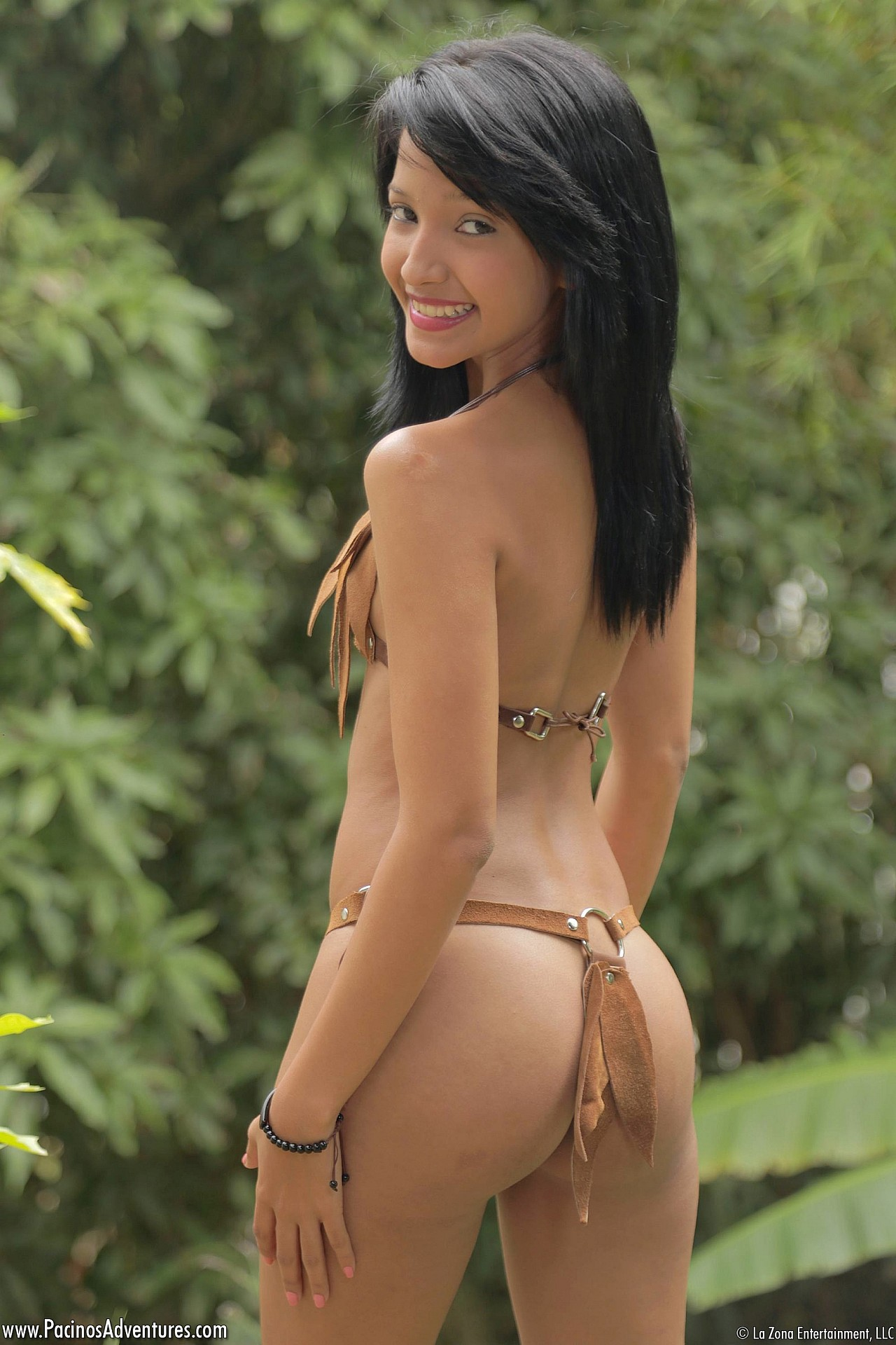 Skinny nude girl hot latina