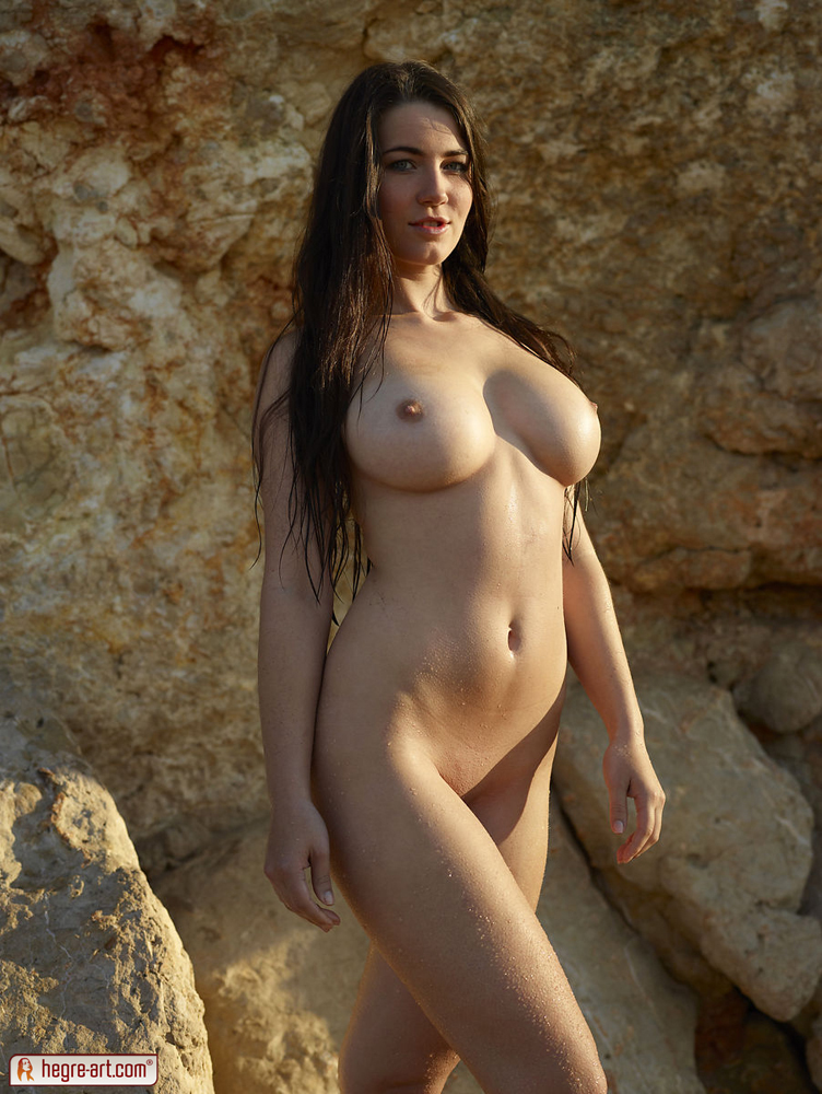Erotic naked boobs