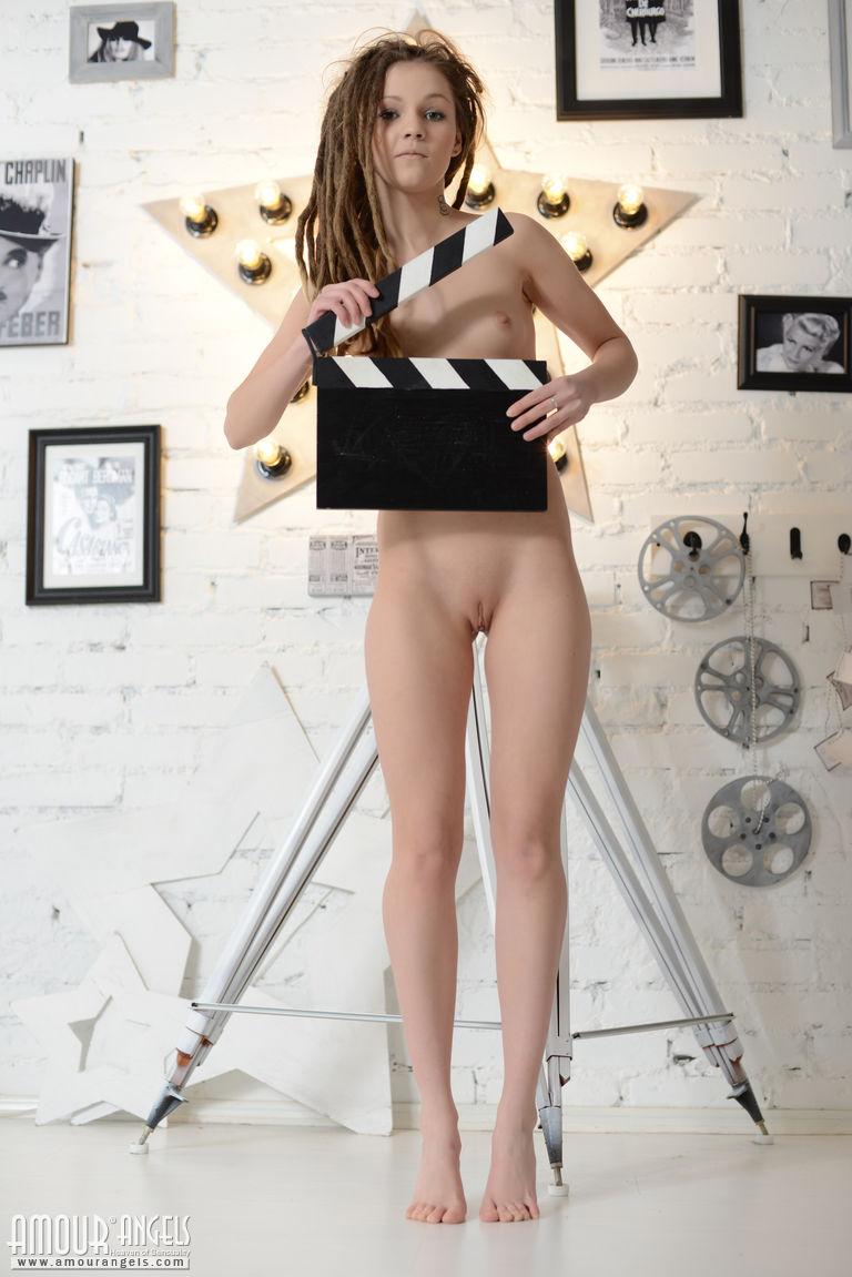 No shame nude girl