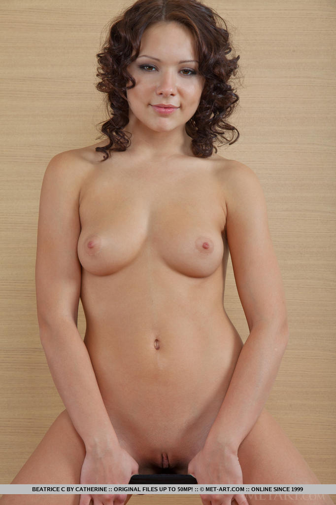 Dark Curly Haired Latina Pussy