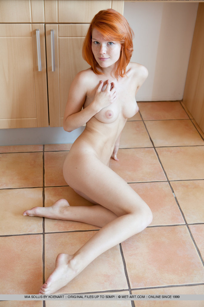 Apologise, naked redhead girls in kitchens