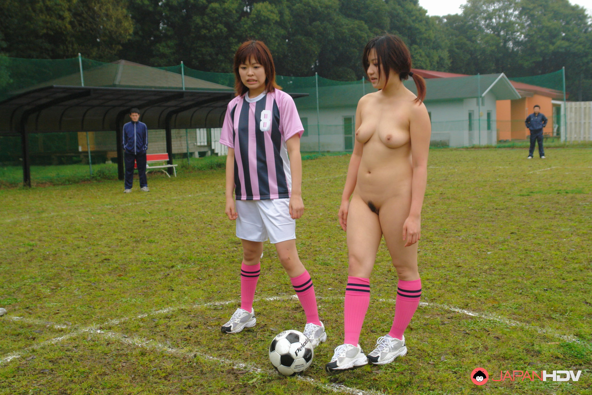 Agree, naked girls playing soccer nude are not