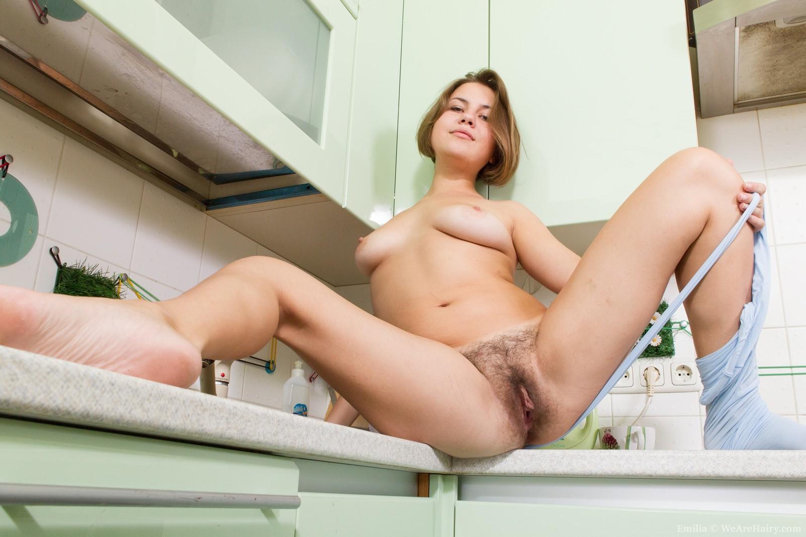 Girlfriend thigh highs nude
